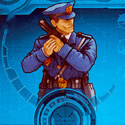 GCPD With Handgun