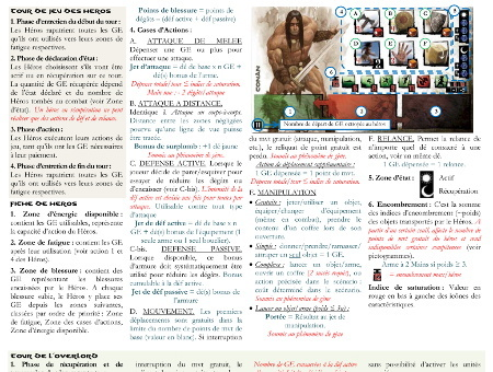Capture d'écran pour Conan_A4_Quick_Rules_v1.1.pdf