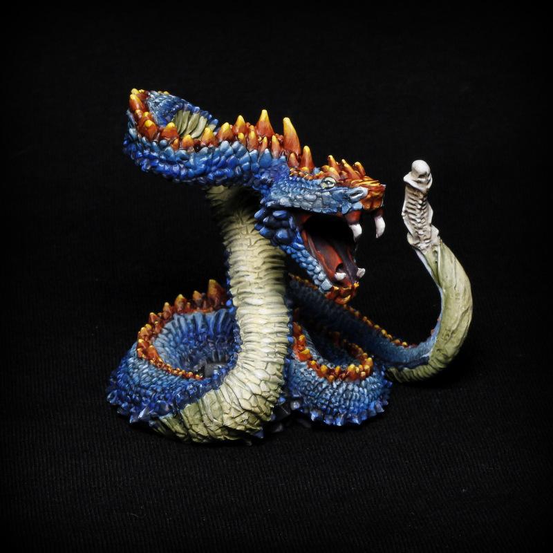 Serpent géant