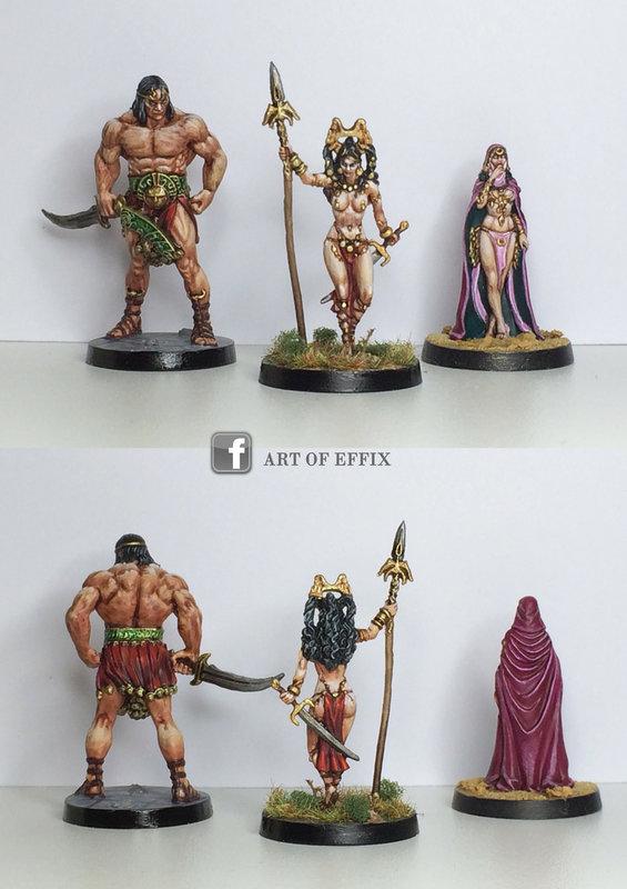 Conan - Khosatral Khel & Belît & princess by Effix.jpg