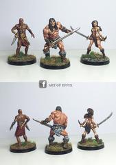 Conan Belit (savage) Shevatas - Effix