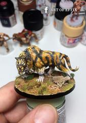 Conan Monolith -Sabre tooth tiger-painting Effix.jpg