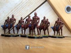 Conan Monolith - The black men - painting Effix