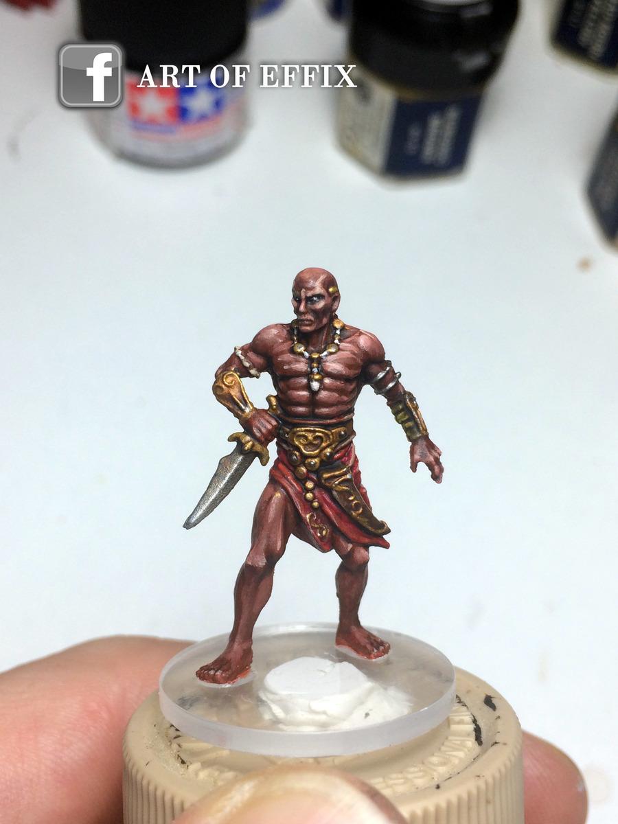 Conan - Shevatas - painting Effix
