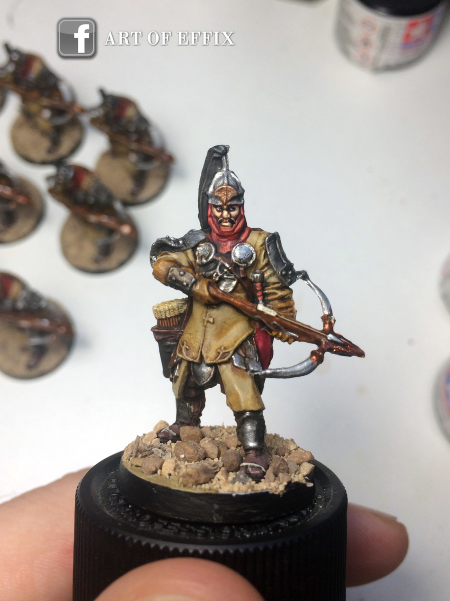 Conan - Crossbowmen arbaletriers 01 - painting Effix