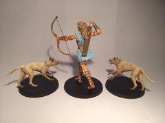 Artemis et ses chiens