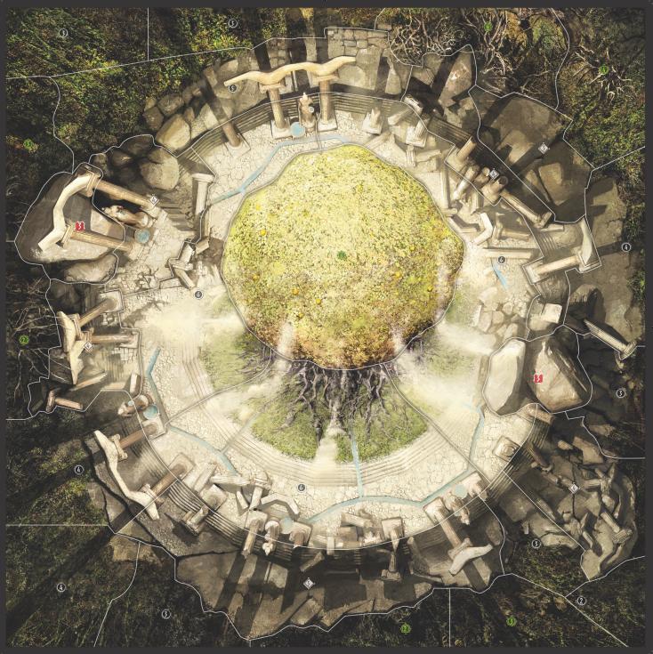 Carte Jardin des Hespérides