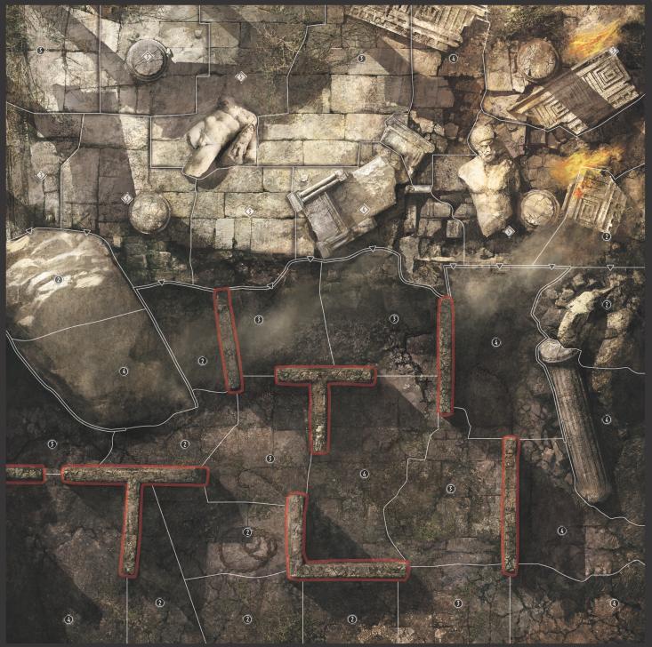 Carte Labyrinthe de Minos