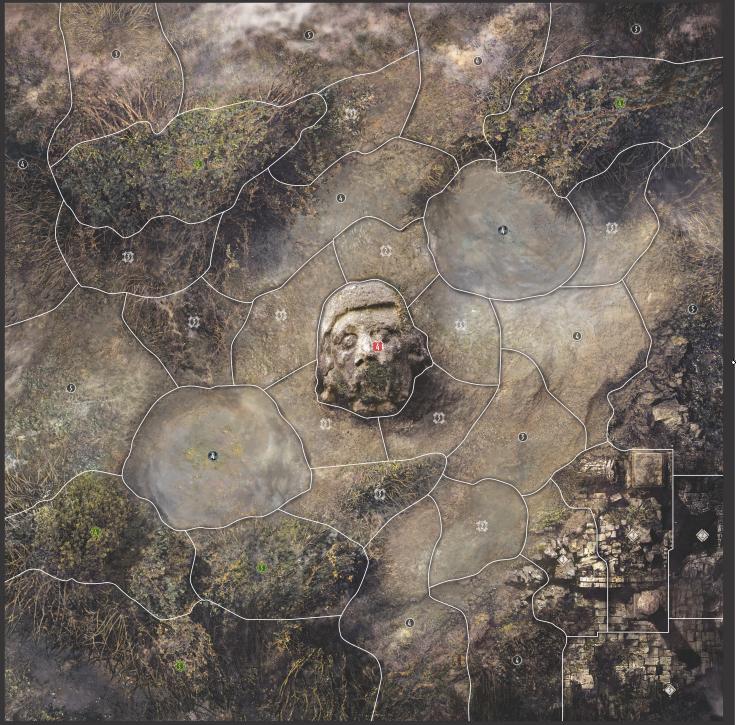 Carte Marais de Lerne