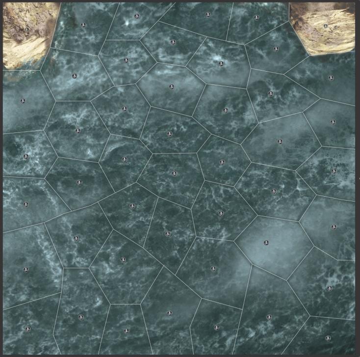 Carte Mer Egée