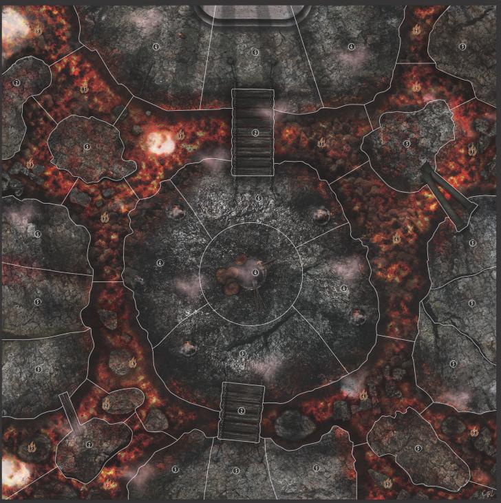Carte Volcan