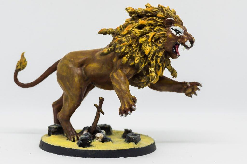 MBP, Lion de Némée