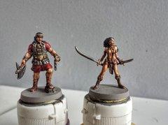 Roi Conan Amra et Savage Belit face