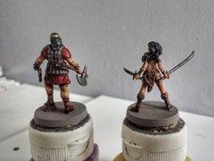 Roi Conan Amra et Savage Belit dos