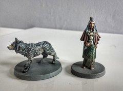 Zelata et son loup face