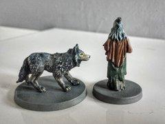 Zelata et son loup dos