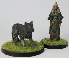 Zelata et son loup
