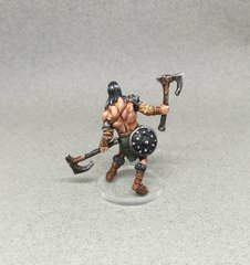 Conan avec des haches