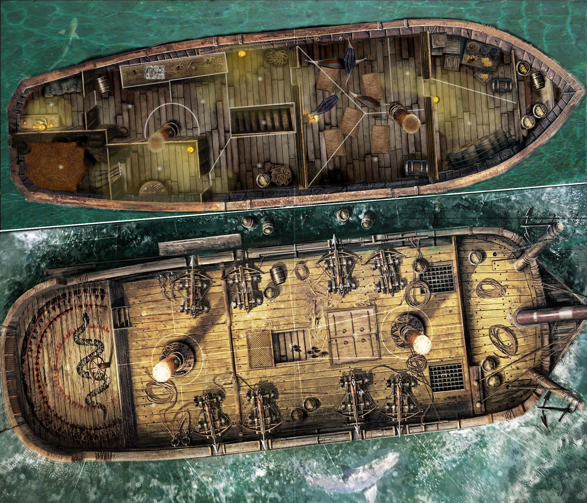 Map concours Pirate exquis