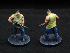 Brute with Firearm