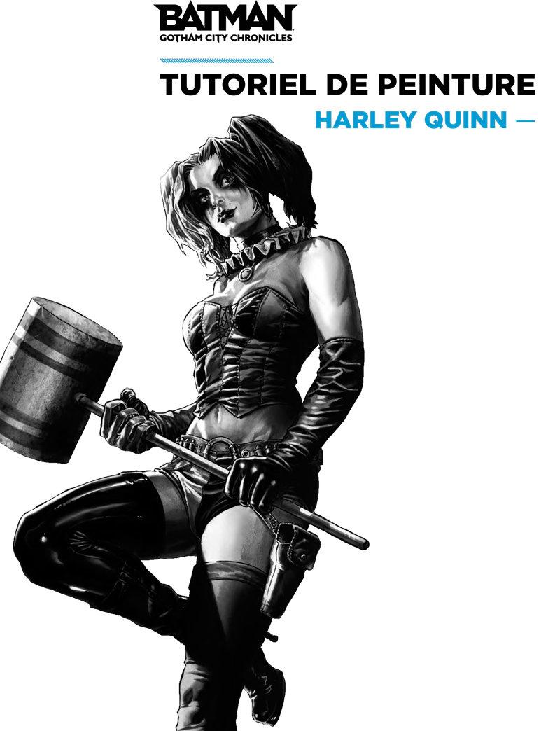 TUTORIEL PEINTURE - Harley Quinn- par François-Xavier Despoulain