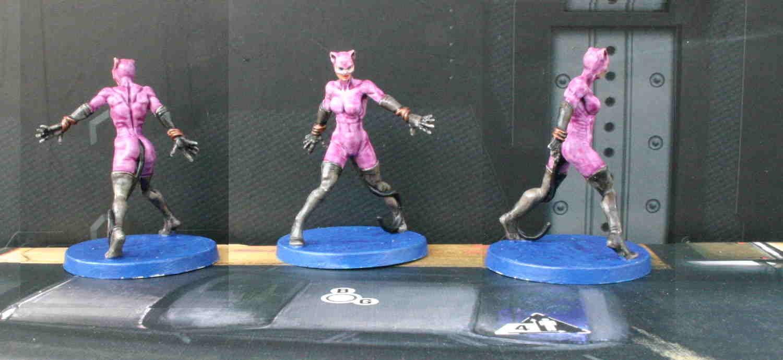 Catwoman violette