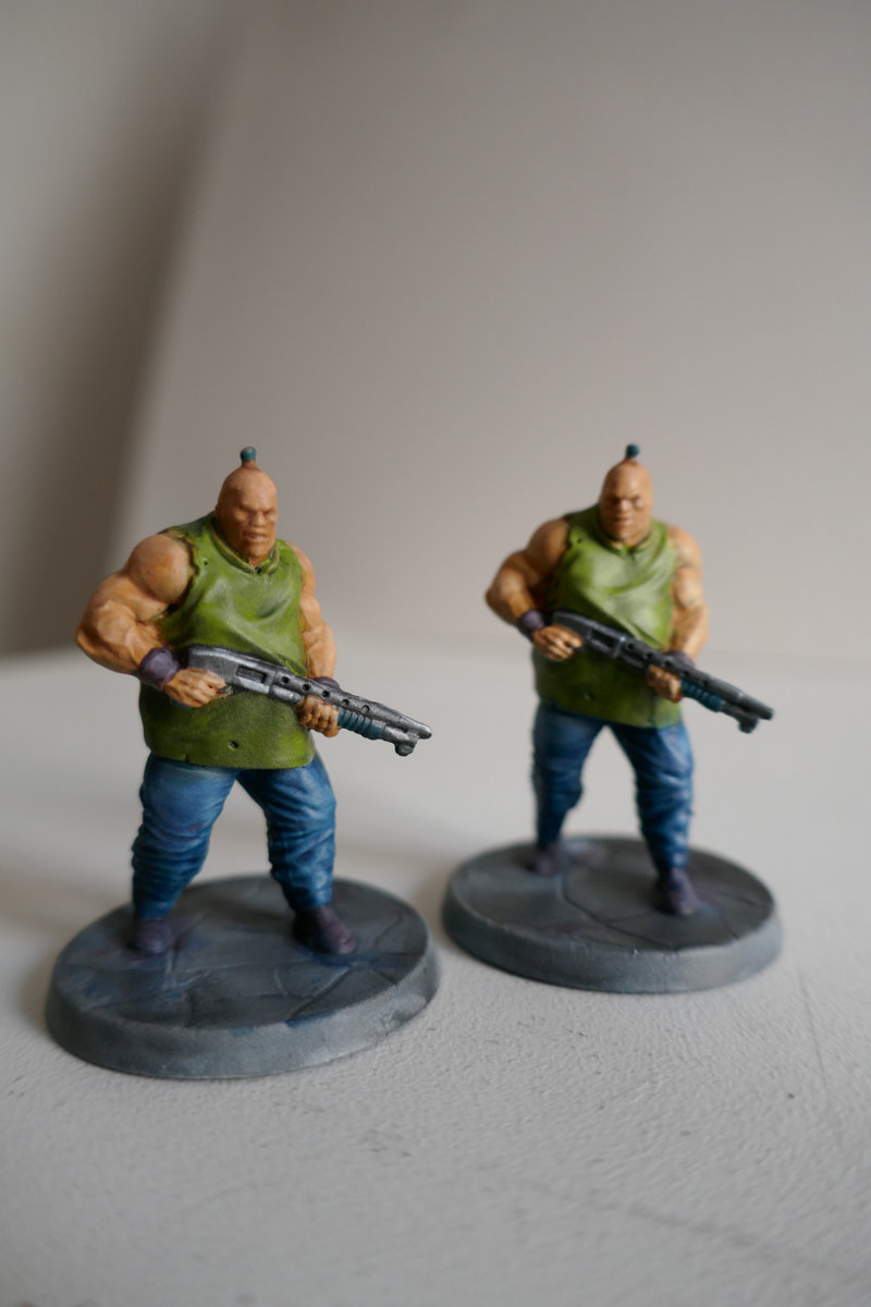 brutes with firearms