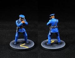 GCPD Officer with Handgun