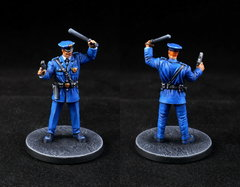 GCPD Officer with Baton