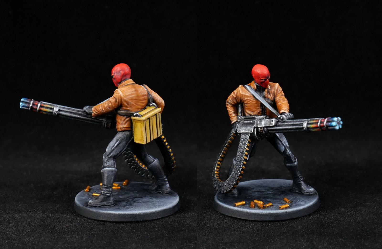 Red Hood (Jason Todd) - Minigun