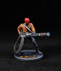 Red Hood (Jason Todd) - Minigun - Face
