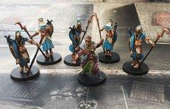 Thot Amon et les gardes Célestes
