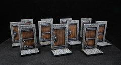 Portes (11 peintes)