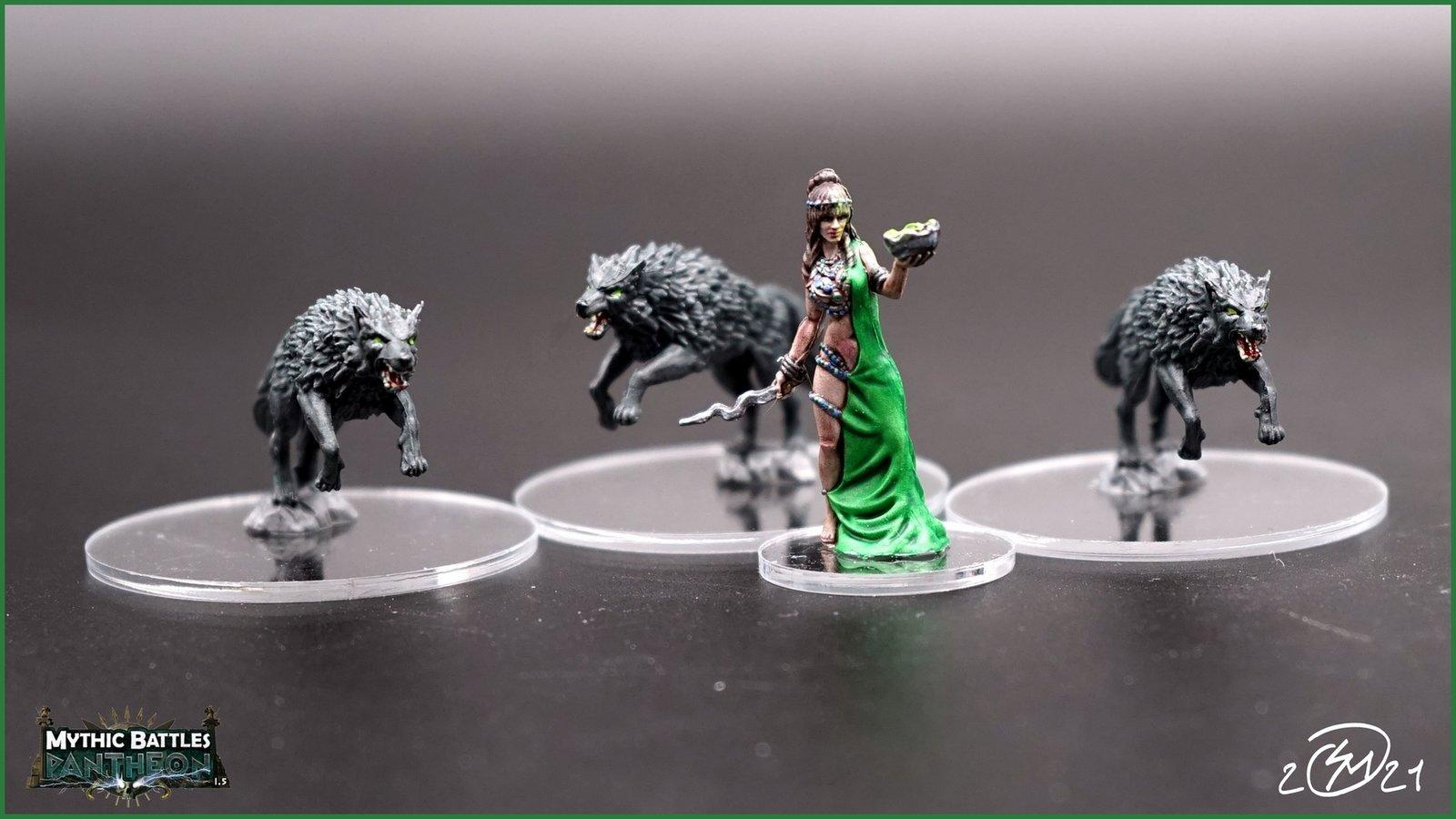 Circé et ses Loups
